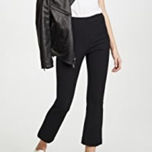 VINCE Stretch Crop Flare Pants, Size XS, NEW